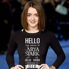 Game of Thrones Maisie Williams Maisie Williams Sophie Turner, Best Young Actors, Teen Awards, Prettiest Actresses, House Stark, Slim Shady, English Actresses, Hello Beautiful, Arya Stark