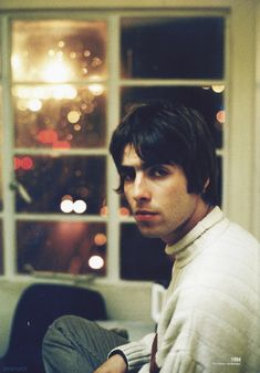 """""""Liam Gallagher scanned and edited from the CROSSBEAT file """" Liam Gallagher Noel Gallagher, Liam And Noel, Oasis Band, Britpop, Wonderwall, Aesthetic Themes, 90s Aesthetic, Music Love, Cool Bands"""