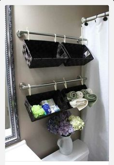 Clever and inexpensive office storage is easy with - http://myshabbychicdecor.com/clever-and-inexpensive-office-storage-is-easy-with/