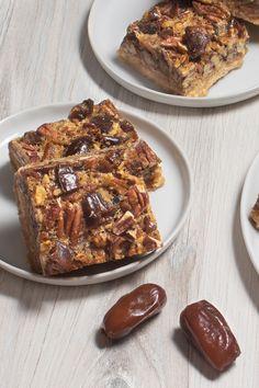 Pecan Recipes, Brownie Recipes, Sweet Recipes, Baking Recipes, Cookie Recipes, Dessert Recipes, Bar Recipes, Sugar Free Desserts, Vegan Desserts
