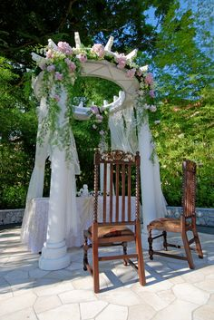 Outdoor perfect wedding deco only at RSR #rasasayangresort
