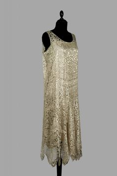 Evening dress, ca 1925