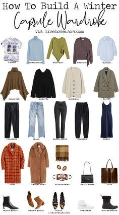 Capsule Wardrobe, Capsule Outfits, Fashion Capsule, Fashion Outfits, Mein Style, Work Casual, Winter Wardrobe, Distressed Denim, Autumn Winter Fashion