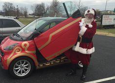 #Santa getting in his sleigh! #Christmas