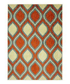 Paprika Ogee Rug   Daily deals for moms, babies and kids