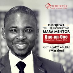 Abuja is all set, just one more day for #Mara1on1. None other than the absolutely inspiring & vibrant J Japheth Omojuwa to moderate the event!