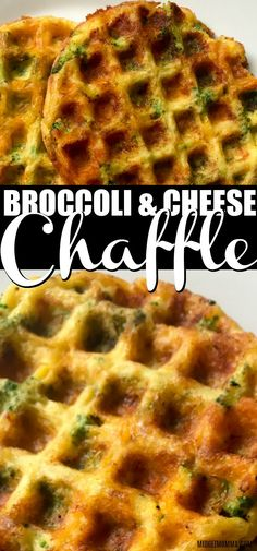 Bubble waffles Broccoli and Cheese Chaffles These Broccoli and Cheese Chaffle are a simple easy keto chaffle recipe. This is the best Broccoli and Cheese Chaffle recipe! This savory chaffle recipe has a crispy outside while being nice and fluffy inside. Keto Waffle, Waffle Recipes, Waffle Iron, Ketogenic Recipes, Keto Recipes, Healthy Recipes, Ketogenic Diet, Keto Foods, Low Carb Dinner Recipes