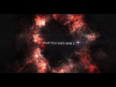 Space Title | After Effects template