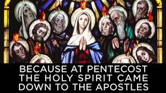 Can't remember what or when Pentecost is? Well for starters, it's this Sunday, and if you want a little more info on this celebration of the Holy Spirit and the birthday of the Church, take a look at Busted Halo's two minute video. (From BustedHalo.com)