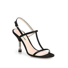 d1c6c3b100b6 T Strap Sandals, Strappy Sandals, Shoes Sandals, Miu Miu Sandals, Red Sole,  Metallic Leather, Shoe Shoe, Shoes Women, Pump