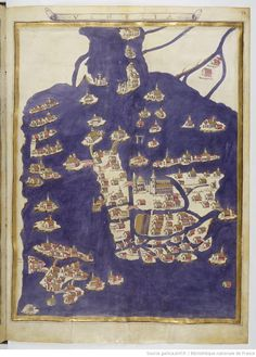 Venetië - Claudius Ptolomaeus , Cosmographia , Jacobus Angelus interpres Auteur du texte: Claudius Ptolomaeus. Auteur : Jacobus Angelus. Traducteur 1451-1500