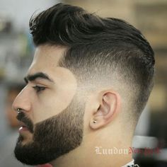 Cool Fades and Beards For Guys