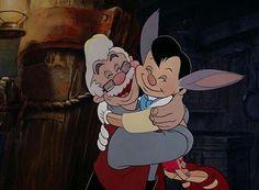 *MR. GEPETTO & PINOCCHIO ~ Pinocchio, 1940