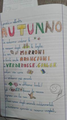 Filastrocca autunno di piumini parole in rima for Maestra agnese carnevale