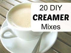 20 DIY Homemade Creamer Mixes, Recipes