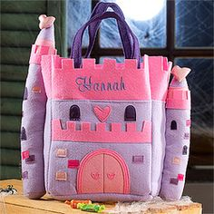 A gift bag for a little princess, or for trick or treat!
