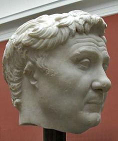 Bust of Gnaius Pompeius Magnus (Pompey the Great) ca. 200-31 b.c.e.