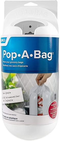 Camco Pop-A-Bag Plastic Bag Dispenser- Neatly Store and Reuse Plastic Grocery Bags, Easily Organize and Conserve Space in Your Kitchen (White) (57061)#bag #bags #camco #conserve #dispenser #easily #grocery #kitchen #neatly #organize #plastic #popabag #reuse #space #store #white