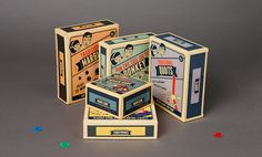 Vintage Style Children's Toys on Behance