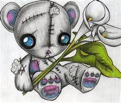 164 migliori tatuaggi TeddyTatty TeddyNaso Le sui blu foto 7gYfy6b