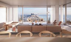 Eighty Seven Park consists of seventy beachfront residences on eighteen floors with private elevator access. Residences range in size from one to five bedrooms (1,000 sq. ft. to 4,100 sq. ft.) with expansive terraces. Full-floor residences offer 360-degree views of the ocean, park, bay and city.