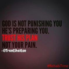 Trust God's plan!