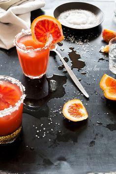 A Bunch Of Tongue Terrifying #Halloween #Shots and #Cocktails - Style Estate -