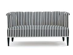 Fabric small sofa Alleegasse Collection by Wittmann | design Josef Hoffmann