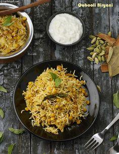 Qabooli Biryani, Hyderabadi Chana Dal Biryani