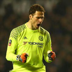 Chelsea Goalkeeper Asmir Begovic Reveals His PFA Team of the Year