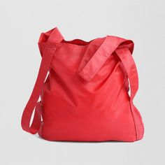 Red Poly Notabag