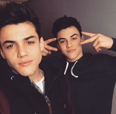 Grayson and Ethan... cuties