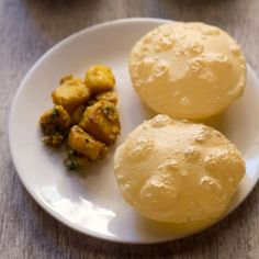 Luchi – deep fried and much loved bengali bread. made with all purpose flour, salt and ghee/oil. Step by step recipe