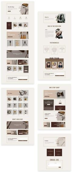 free divi layout for ecommerce shop