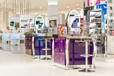 New York, NY - International retail design consultancy Sheridan&Co has launched the new retail flagship of United States-based cosmetics brand Urban Decay in London's West End. The retail site opened in June in the new beauty hall at House of Fraser, London W1.