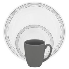 Shop for Corelle Livingware 16-piece Set Mystic Gray. Free Shipping on orders over $45 at Overstock.com - Your Online Kitchen