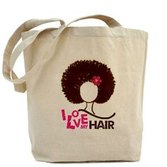 This is a nice accessory to go along with your natural hair.