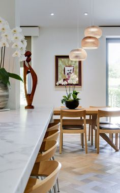 Style and Substance by Daniel Hopwood – casual dining area. Decor, Furniture, Dining Area, Home Decor, Kitchen Fittings, Interior Design Styles, Modern Kitchen Design, Interior Design, Kitchen Design