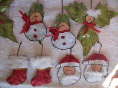 DIY: Enfeiteis de Natal 2013
