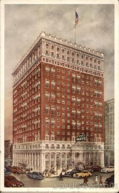The Mayo Hotel - Refined Elegance and Modern Comfort - Tulsa Oklahoma. My uncle managed this hotel which was quite elegant for its time.