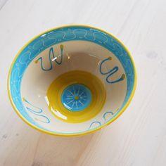 Soup bowl salad bowl fruit bowl serving bowl blue by PotsbyNives