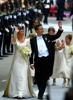 H.R.H. Princess Martha Luise of Norway and Ari Behn
