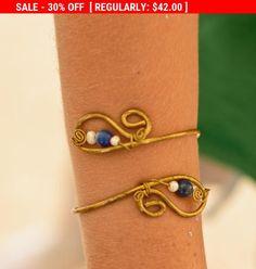 Cleopatra Arm bracelet brass arm bracelet  armlet arm cuff Womens Bracelet Wrap Bracelet Cuff Bracelet spiral arm bracelet boho by energywire from Ecommmax. Find it now at http://ift.tt/1S3uv2N!