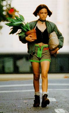 Natalie Portman portrays the role of ''Matilda'' in the film ''Leon: The Professional'' a 1994 English-language French action crime thriller movie, directed & written by Luc Besson, music by Eric Serra, distributed by Gaumont Buena Vista International. Leon The Professional Mathilda, The Professional Movie, Professional Outfits, Natalie Portman The Professional, Natalie Portman Leon, Natalie Portman Mathilda, Leon Matilda, Professional Wallpaper, Mathilda Lando