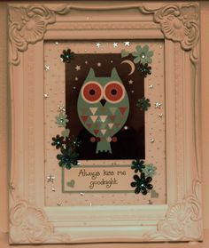 Lovely Owl Decor for Kids Room