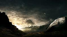 Fantasy dream sci fi Landscapes | Alpha Coders | Wallpaper Abyss Sci Fi Landscape 83741
