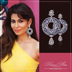 #ShaheenAbbas looking exquisite adorning our pretty piece!