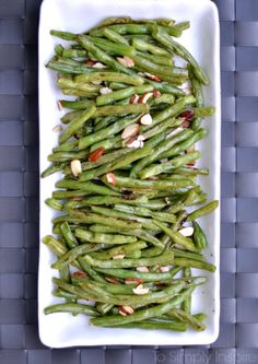 These roasted green beans are so simple and delicious. Add them to any meal as a limitless healthy side .