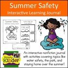 Lets talk Summer Safety with this Interactive Learning Journal from Simply Kinder!  $    Looking for some fun activities to teach the summer safety?  ...