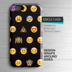 Emoji iPhone 6 Case Emoji Sublimated Samsung Galaxy by HolaCase